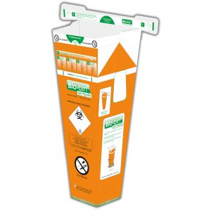 BIO-BIN 6 LITRE ORANGE