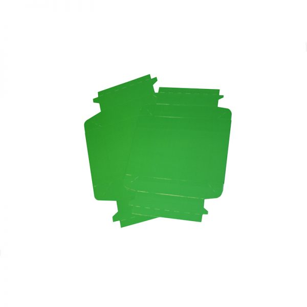 COLOUR BIOBOX GREEN FLAT PACKED