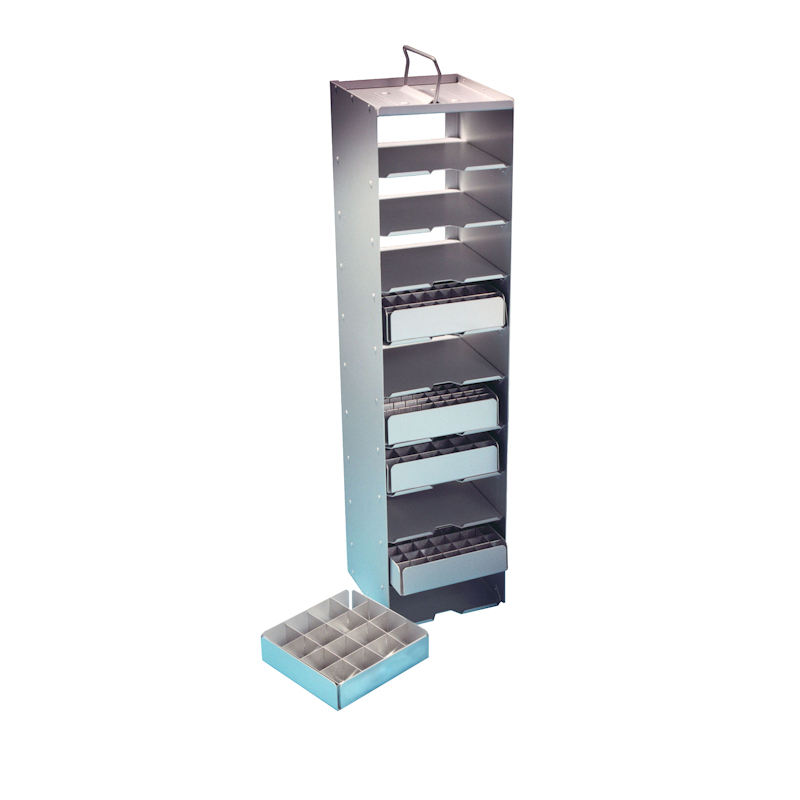 Aluminium Storage Tray - Vertical Racks