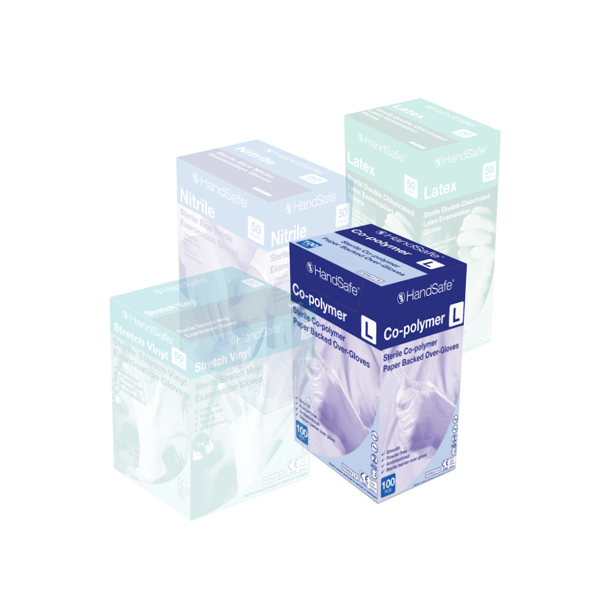 Sterile Co-Polymer Examination Gloves