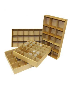Corrugated Cardboard Storage Tray