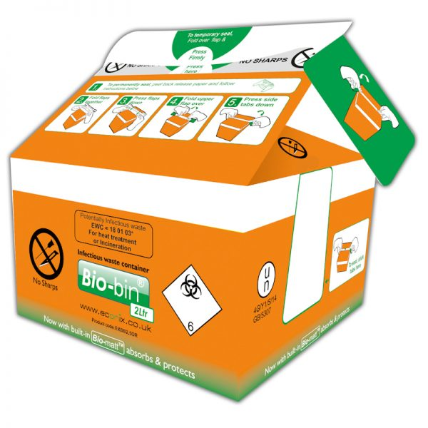 BIO-BIN 2 LITRE ORANGE