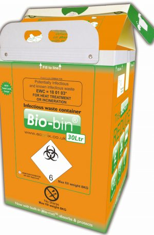 BIO-BIN 30 LITRE ORANGE