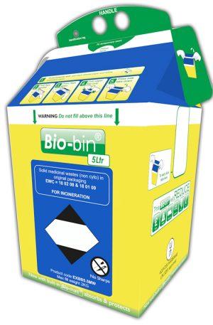 BIO-BIN 5 LITRE BLUE