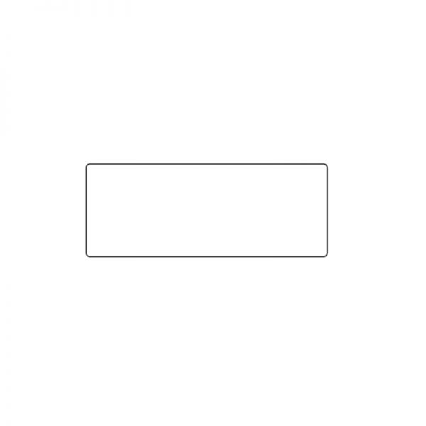 Labtag identification label white 32 5 x 12 5mm