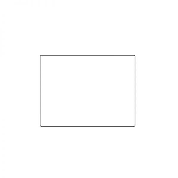 Labtag identification label white 40 x 30mm