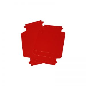 COLOUR BIOBOX RED FLAT PACKED