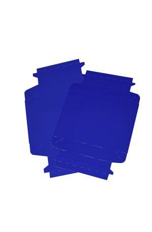 COLOURED BIO BOX BLUE FLAT PACK