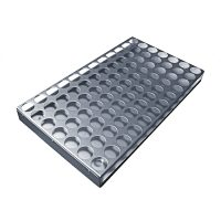 Aluminium Storage Tray Single Punched Insert