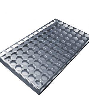 Aluminium Storage Tray Single Punched Insert