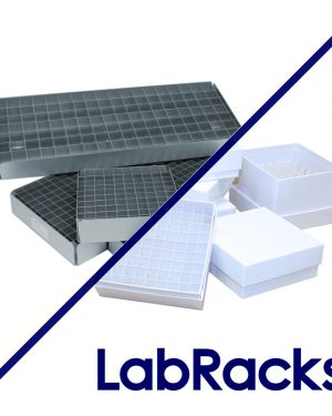 Horizontal LabRacks™ for Storage Boxes and Trays