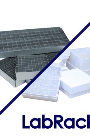 Horizontal LabRacks™ for Storage Boxes and Trays